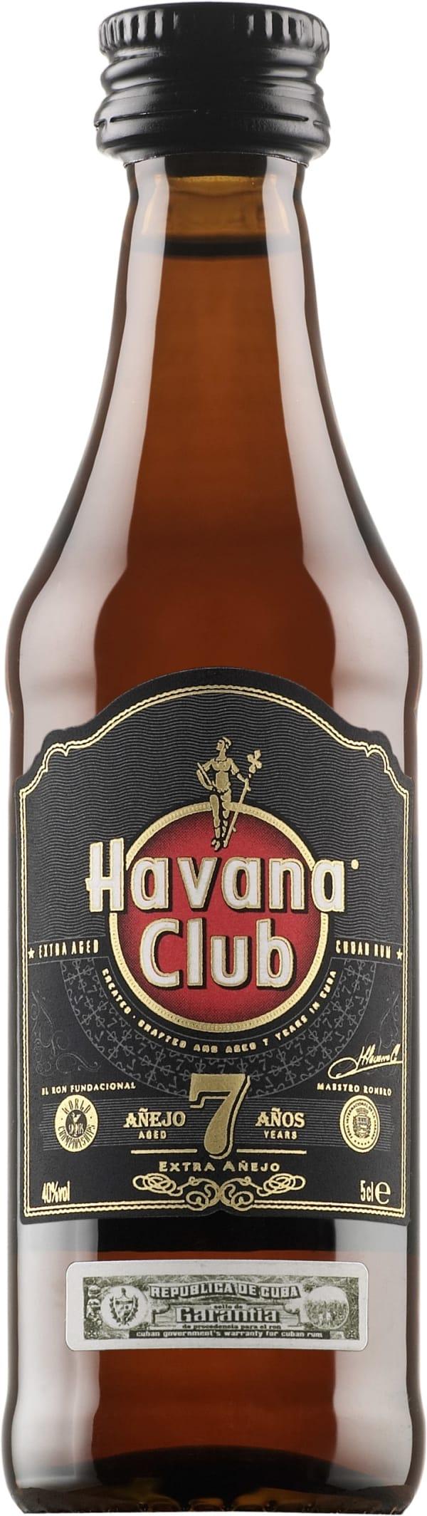 Havana Club Añejo 7 Años  plastflaska