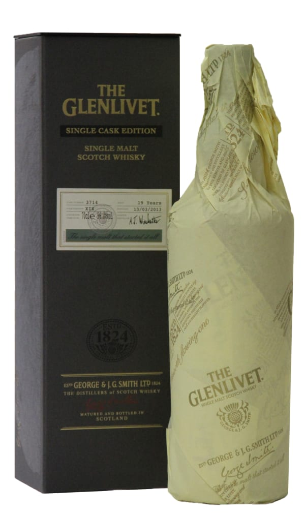 The Glenlivet XIX Single Cask Edition Single Malt