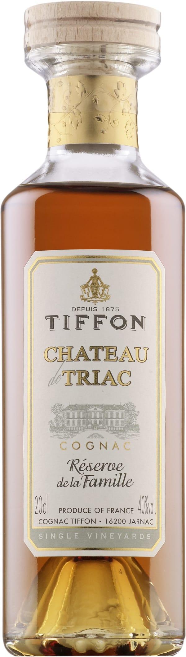 Tiffon Chateau de Triac Reserve de la Famille