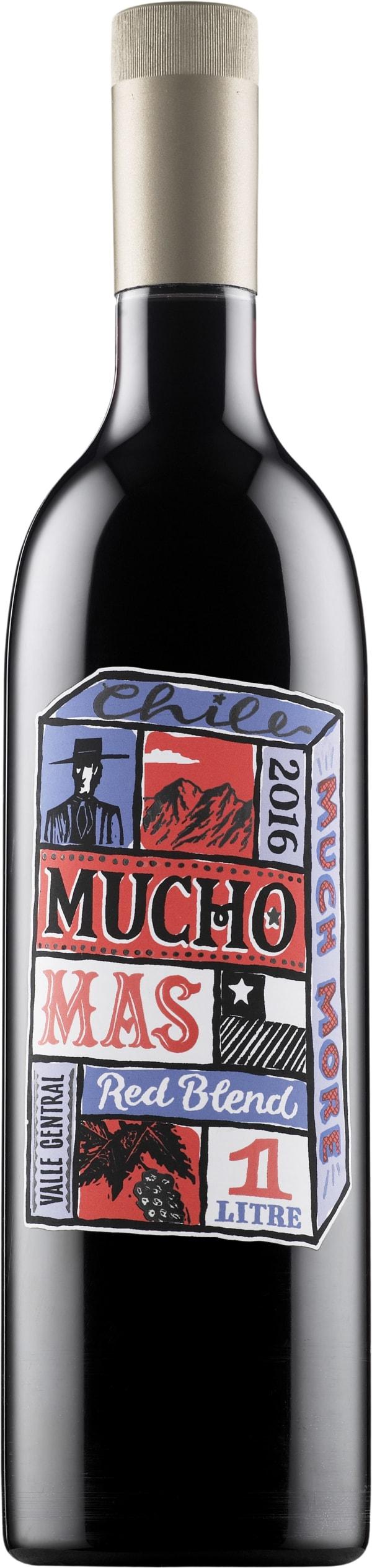 Mucho Mas Red Blend 2016 muovipullo