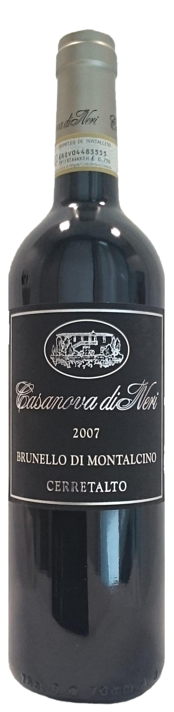 Casanova di Neri Brunello di Montalcino Cerretalto 2007