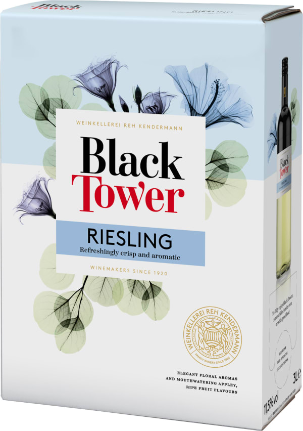 Black Tower Dry Riesling  hanapakkaus