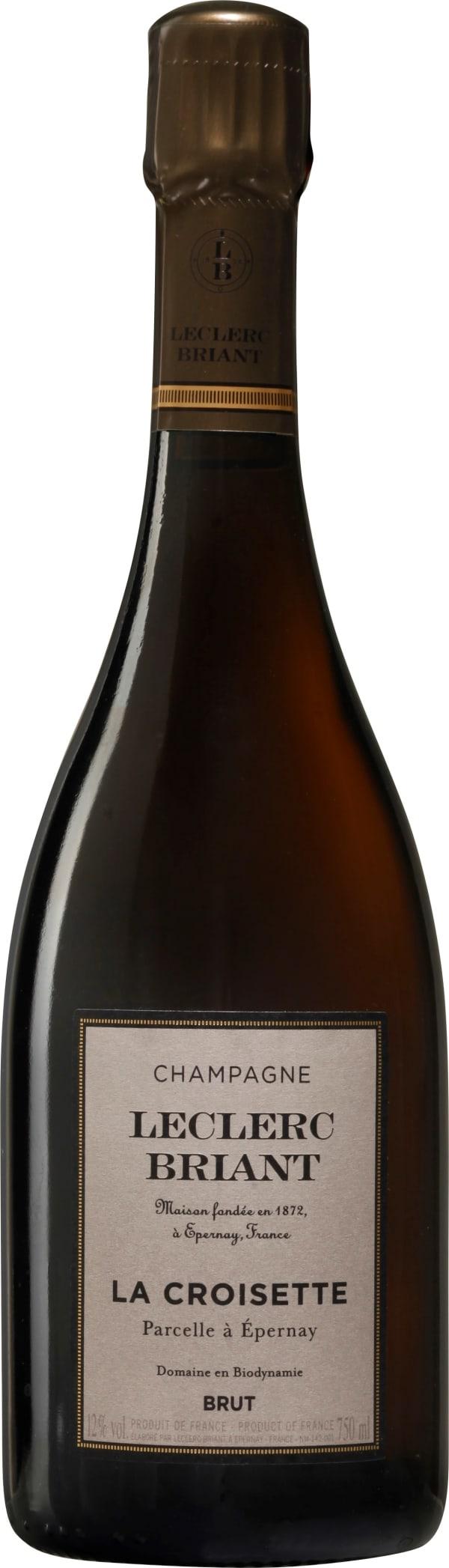 Leclerc Briant La Croisette Champagne Brut 2012