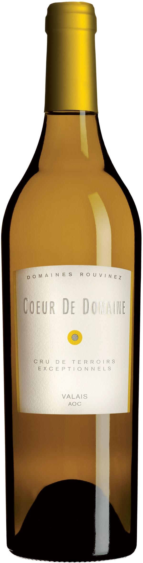 Domaine Rouvinez Coeur de Domaine blanc 2012