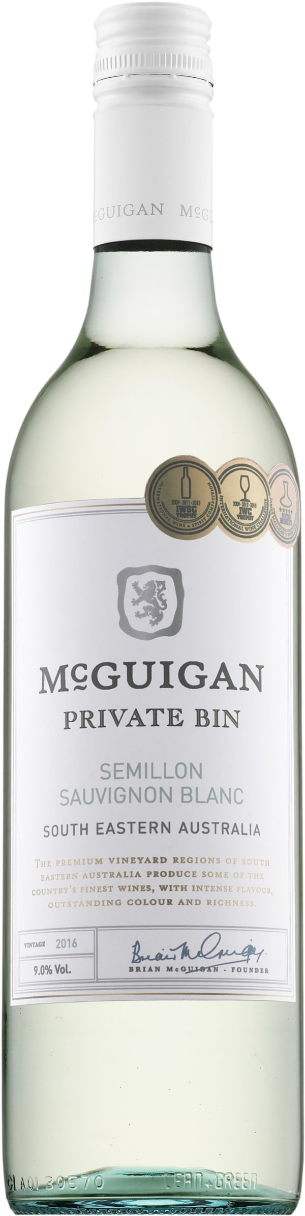 McGuigan Private Bin Sémillon Sauvignon Blanc 2016