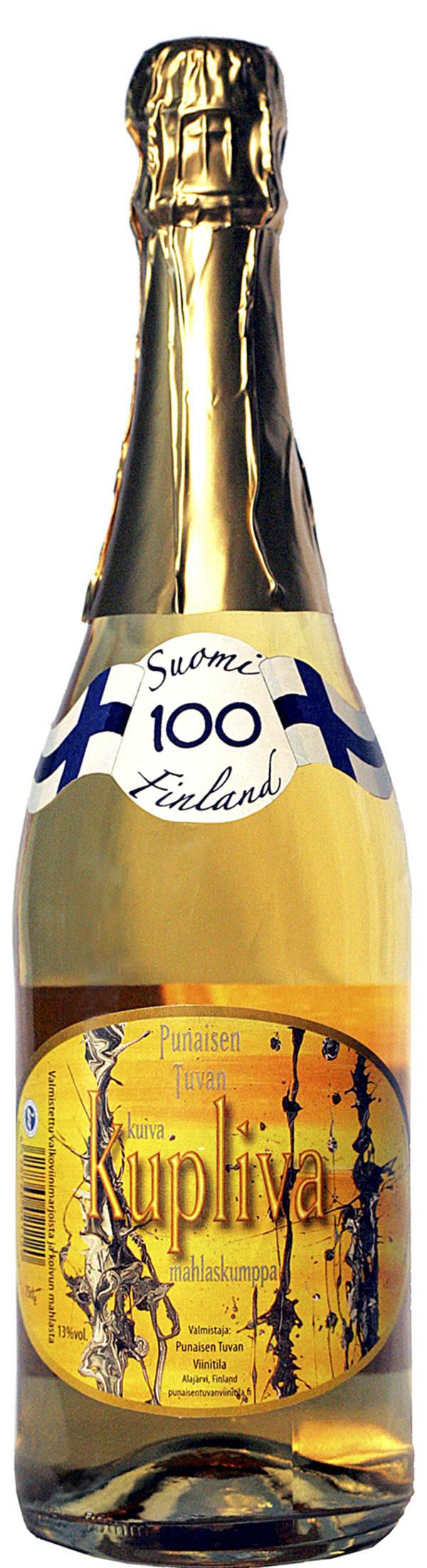 Punaisen Tuvan Kupliva Suomi 100 Mahlaskumppa