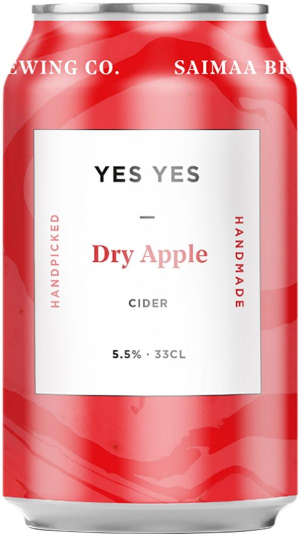 Saimaan Crafty Cloudy Dry Apple Cider  tölkki