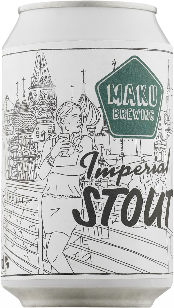 Maku Imperial Stout  can