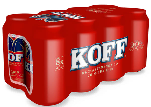 Koff III 8-pack  can