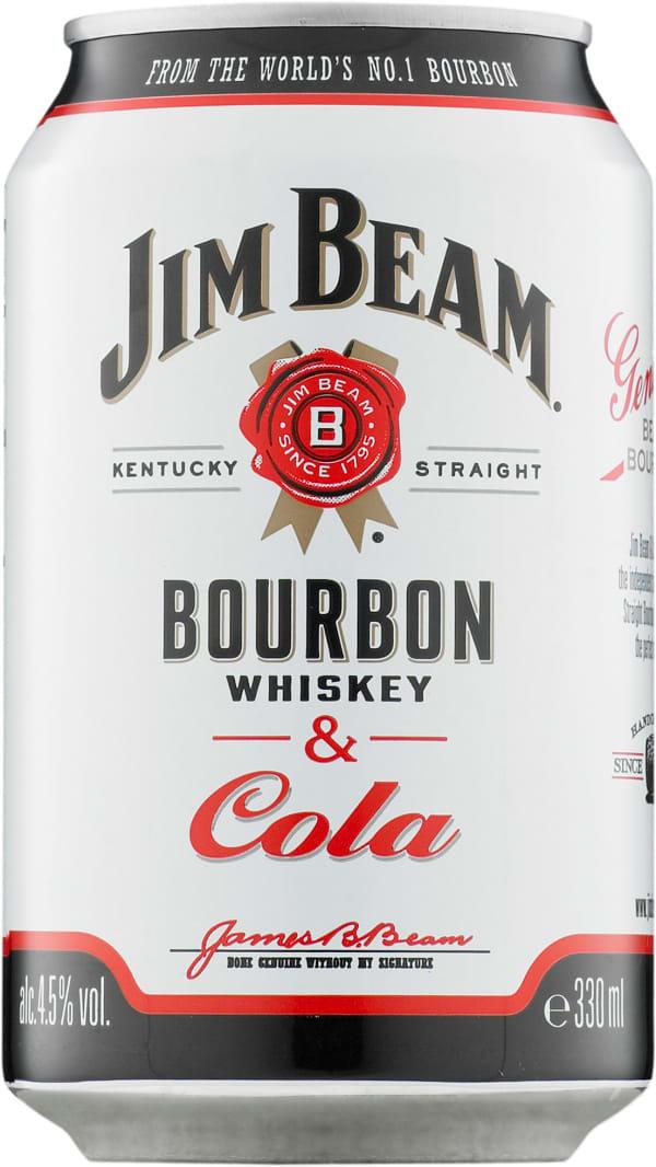 Jim Beam Cola   tölkki