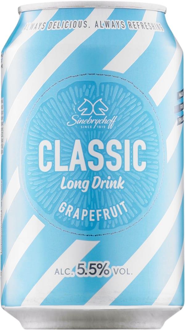 Sinebrychoff Long Drink Grapefruit  tölkki