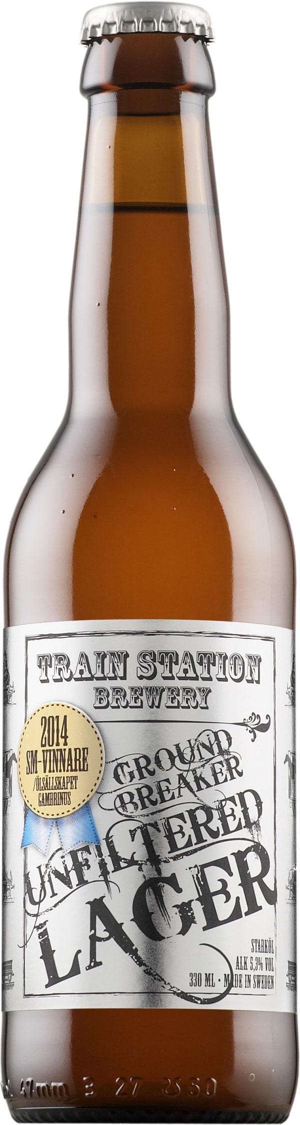 Train Station Brewery Groundbreaker