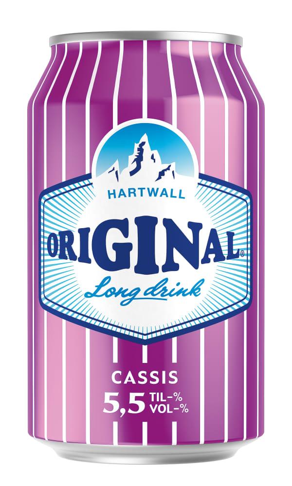 Original Long Drink Cassis  tölkki