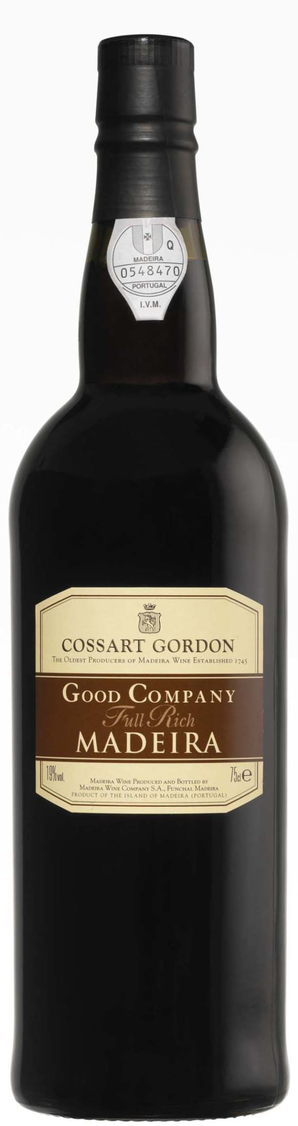 Cossart Gordon Good Company Full Rich Madeira