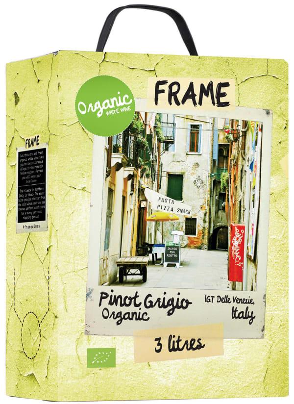 Frame Organic Pinot Grigio  hanapakkaus