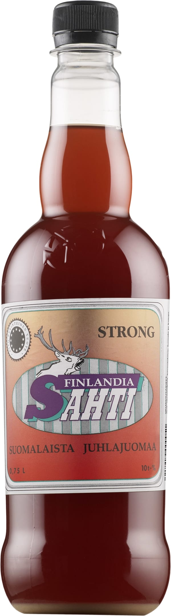 Finlandia Sahti Strong  muovipullo