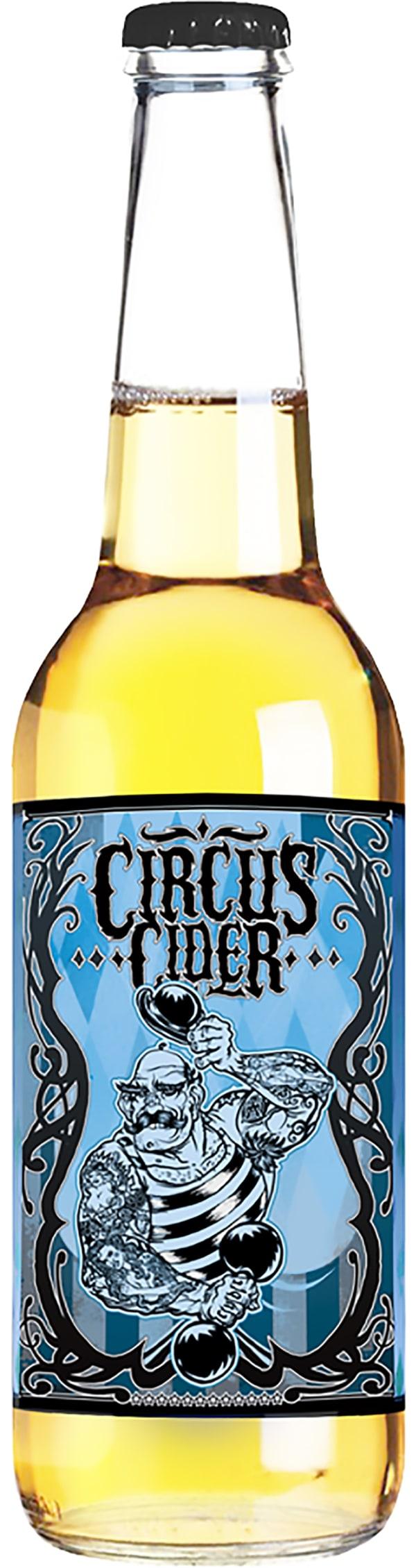 Strongman Circus Cider 2016