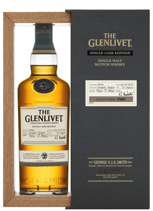 The Glenlivet Coupar Angus Single Cask Edition Single Malt