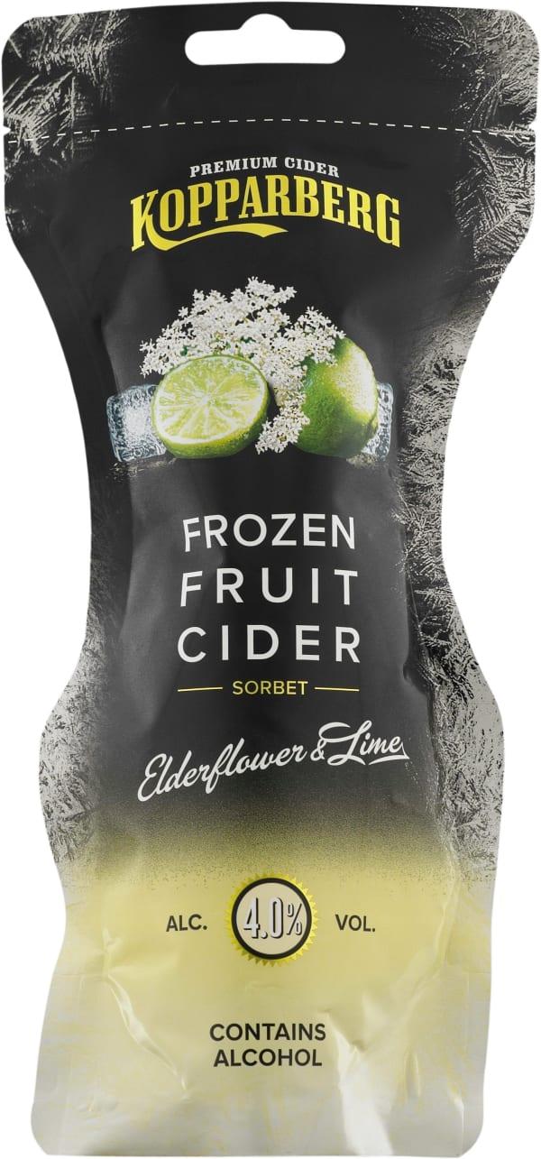 Kopparberg Frozen Fruit Cider Elderflower & Lime