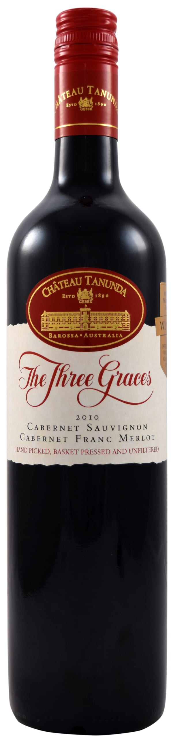 The Three Graces Cabernet Sauvignon Cabernet Franc Merlot 2010