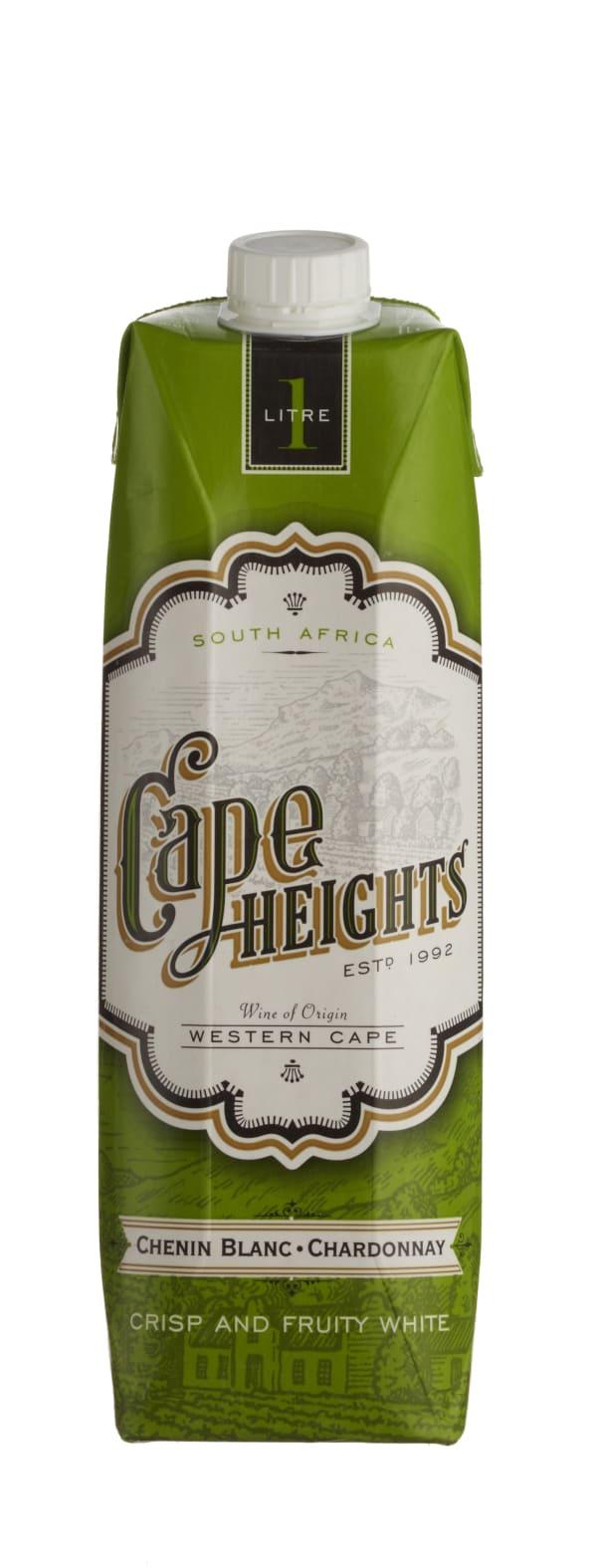 Cape Heights Chenin Blanc Chardonnay  kartonkitölkki