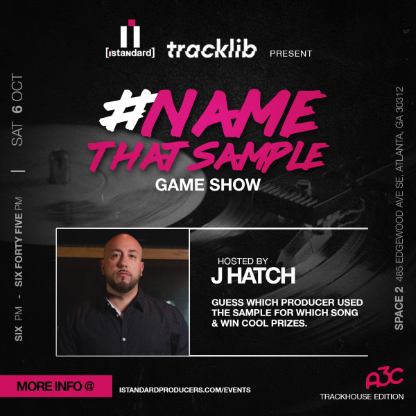 Name That Sample] Interactive Game show [Powered by Tracklib]