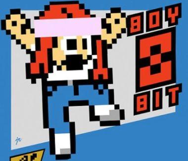 Boy 8-Bit pictures