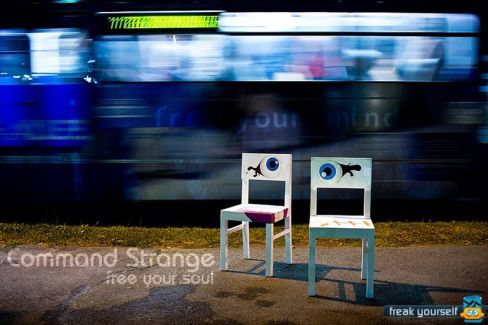 Command Strange pictures