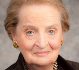 Madeleine Albright Speaker Bio