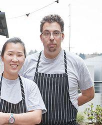 Rachel Yang and Seif Chirchi