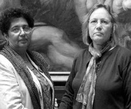 Aicha el-Wafi and Phyllis Rodriguez Speaker Agent