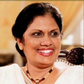 Chandrika Bandaranaike Kumaratunga Headshot