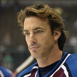 Joe Sakic Headshot
