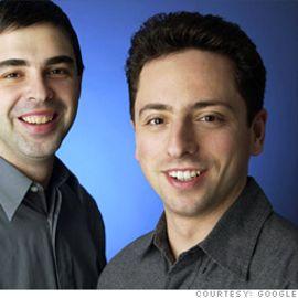 Sergey Brin and Larry Page Headshot