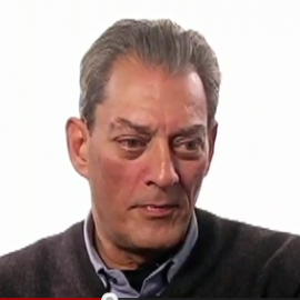 Paul Auster Headshot