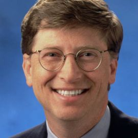 Bill Gates Headshot