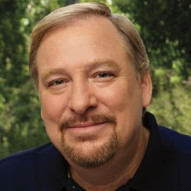 Pastor Rick Warren Headshot