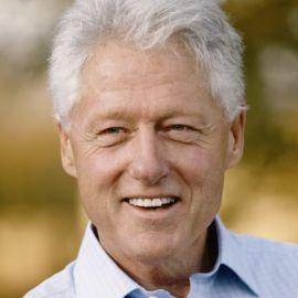 Bill Clinton Headshot