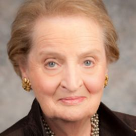 Madeleine Albright Headshot
