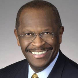 Herman Cain Headshot