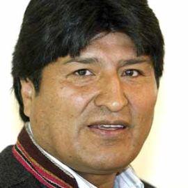 Evo Morales Headshot