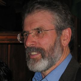 Gerry Adams Headshot