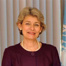 Ms. Irina Bokova Headshot