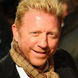 Boris Becker Headshot