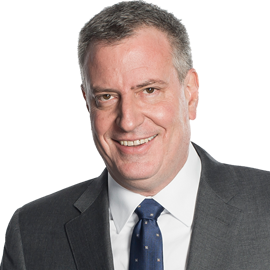 Bill de Blasio Headshot