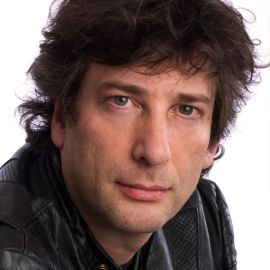 Neil Gaiman Headshot