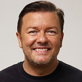 Ricky Gervais Headshot