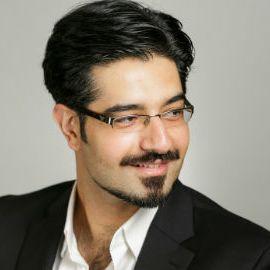 Amin Toufani Headshot