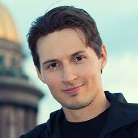 Pavel Durov Headshot