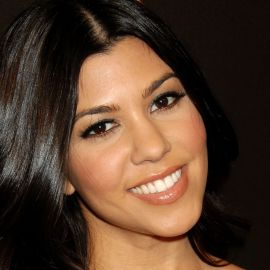Kourtney Kardashian Headshot